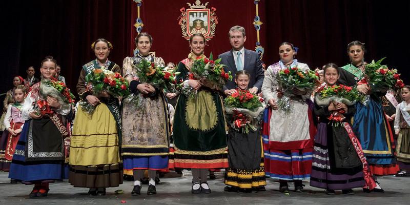 Telma, Dama de las Fiestas de San Pedro y San Pablo 2018